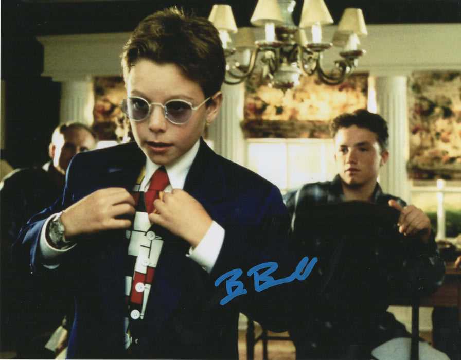 Brian Bonsall Signed 11x14 Photo Authentic Autograph Disney Blank Check COA Z4