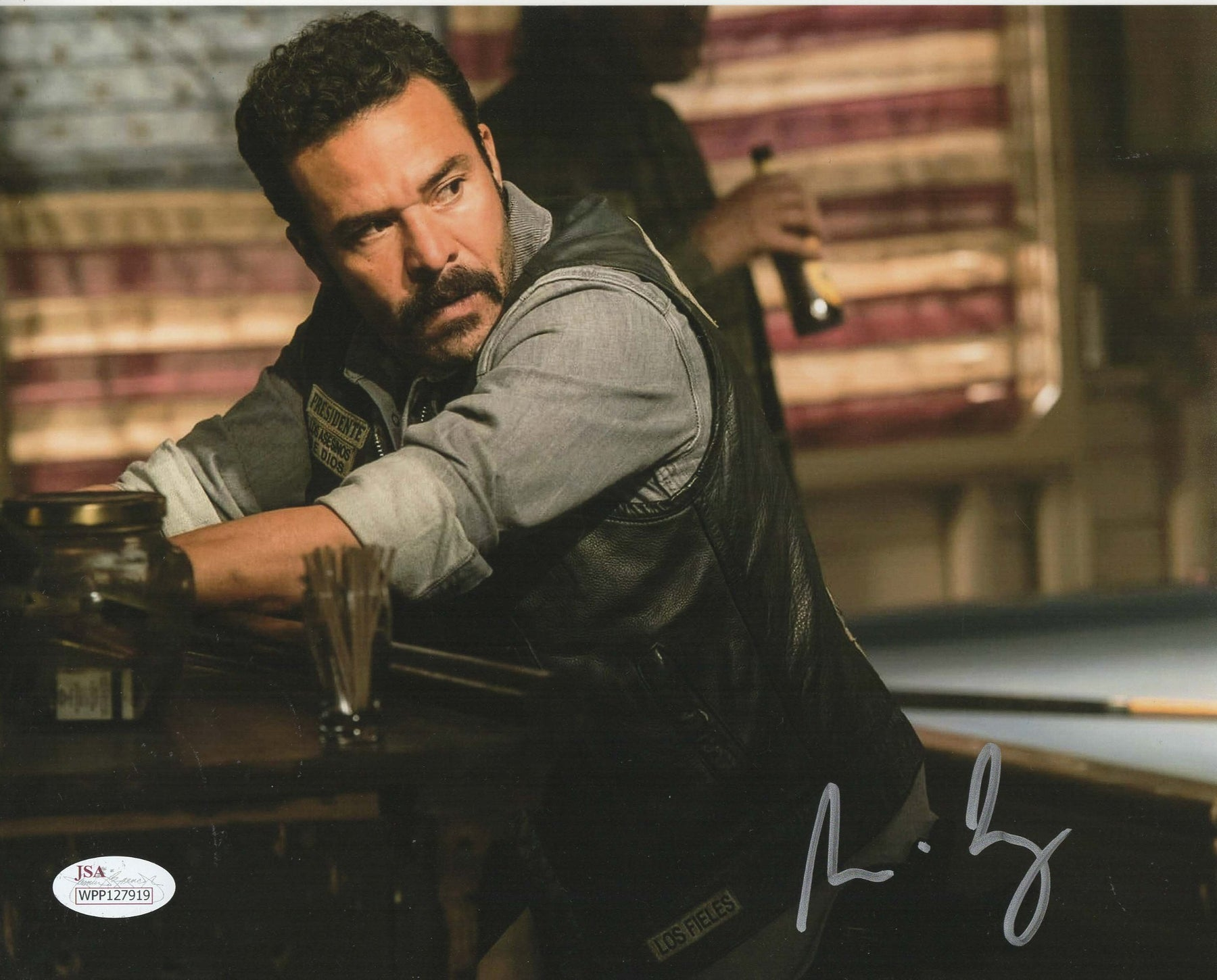 Michael Irby Autograph 8x10 Photo Bishop Mayans MC Signed JSA COA M3