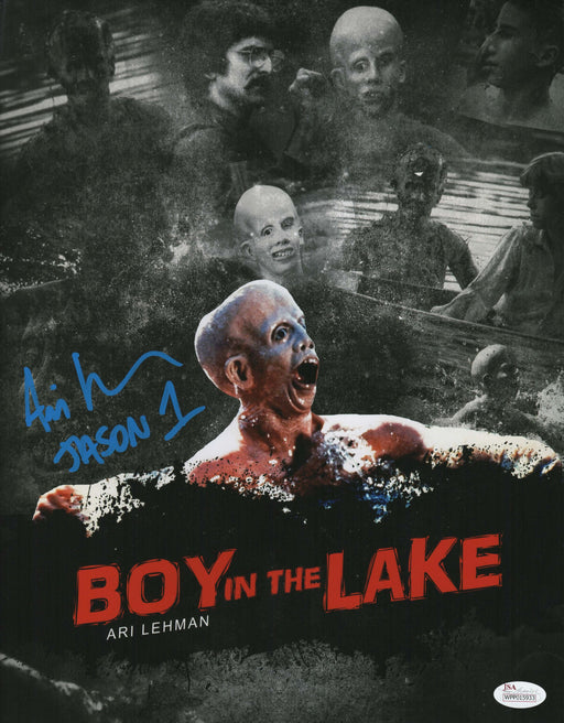 SPECIAL Ari Lehman Signed 8x10 Photo Friday the 13th Jason Voorhees Custom Picture JSA