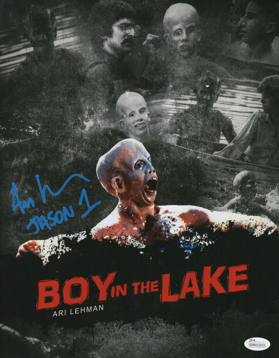 Ari Lehman Signed 8x10 Photo Friday the 13th Jason Voorhees Custom Picture JSA