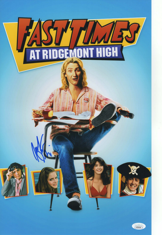 Jennifer Jason Leigh Autograph 11x17 Photo Fast Times at Ridgemont High JSA
