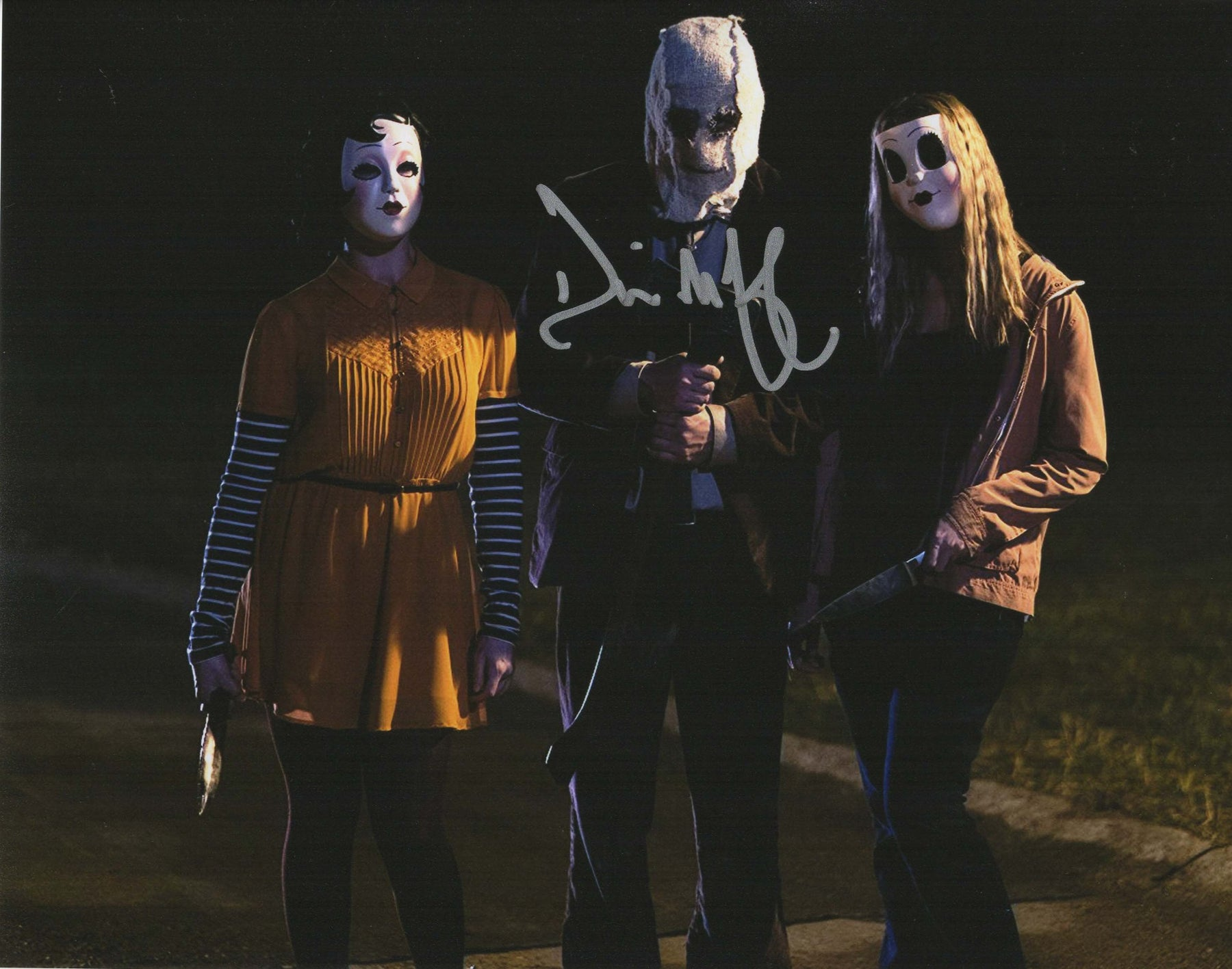 Damian Maffei Signed 8x10 Photo Strangers Prey At Night COA H1