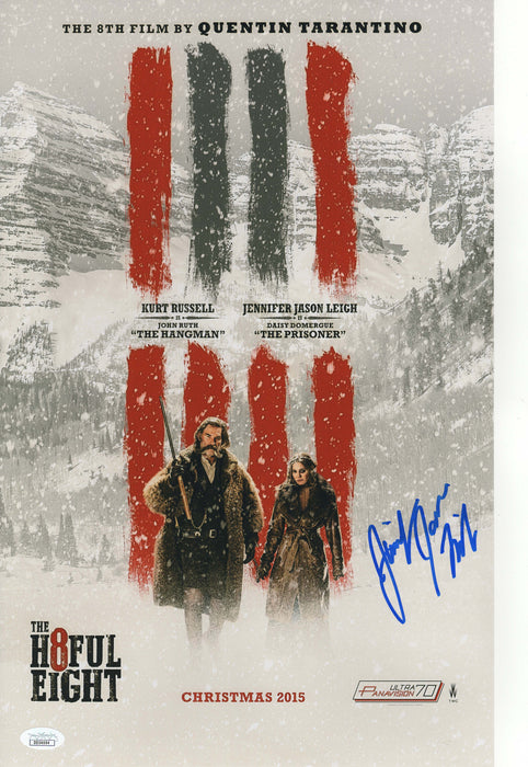 Jennifer Jason Leigh Autograph 11x17 Photo Hateful Eight Signed JSA COA Rare 2
