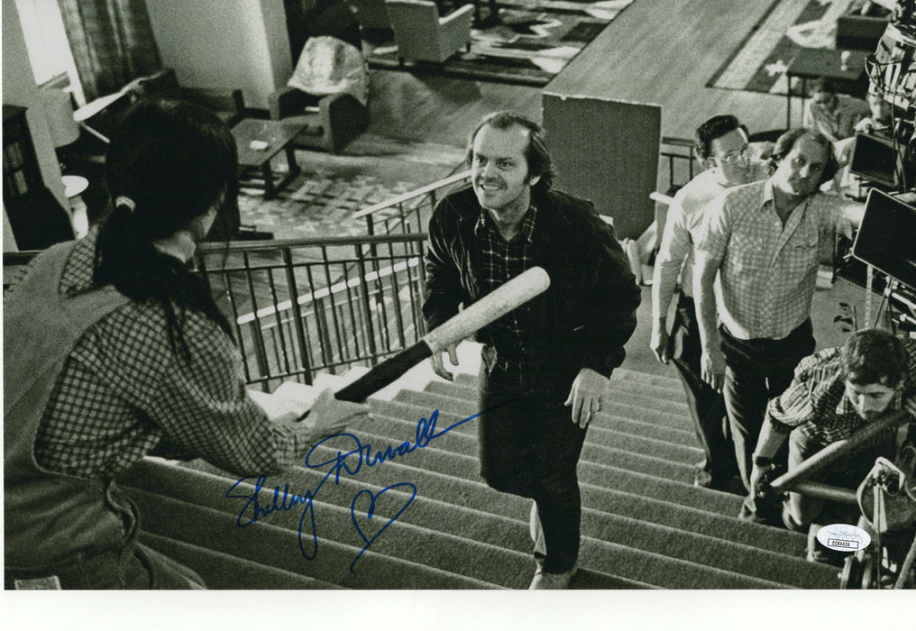Shelley Duval Autograph 11x17 The Shining Photo Signed Wendy JSA COA Z1
