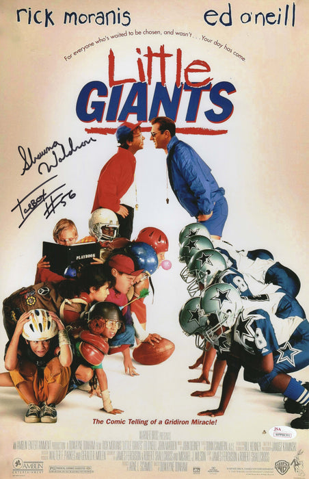 Shawna Waldron Autograph 11x17 Photo Little Giants ICEBOX SIGNED JSA COA Z2