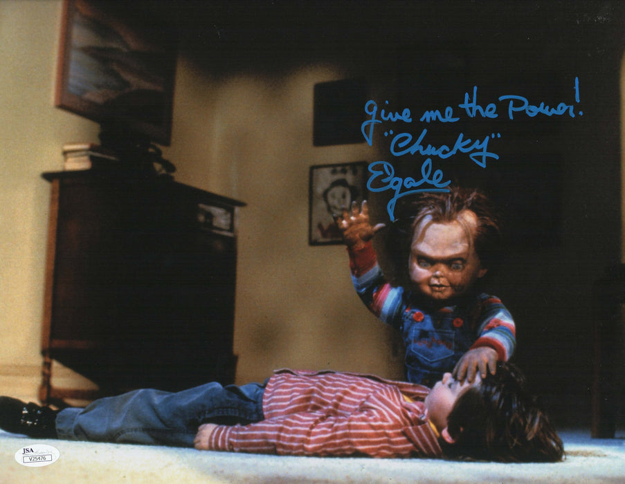 Ed Gale Authentic Signed 11x14 Child's Play Autograph JSA COA CP3
