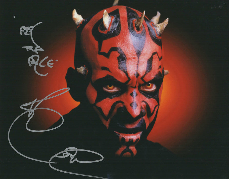 Ray Park Signed 11x14 Photo Authentic Autograph Star Wars Darth Maul COA 2