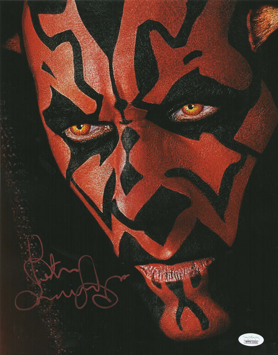 Peter Serafinowicz Autograph 11x14 Star Wars Photo Darth Maul Signed JSA COA 6