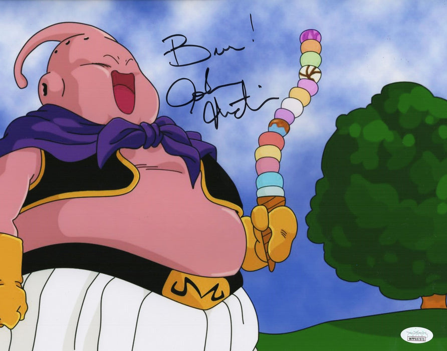 Josh Martin Autograph 11x14 Photo Dragon Ball Z Majin Buu Signed JSA COA Z1