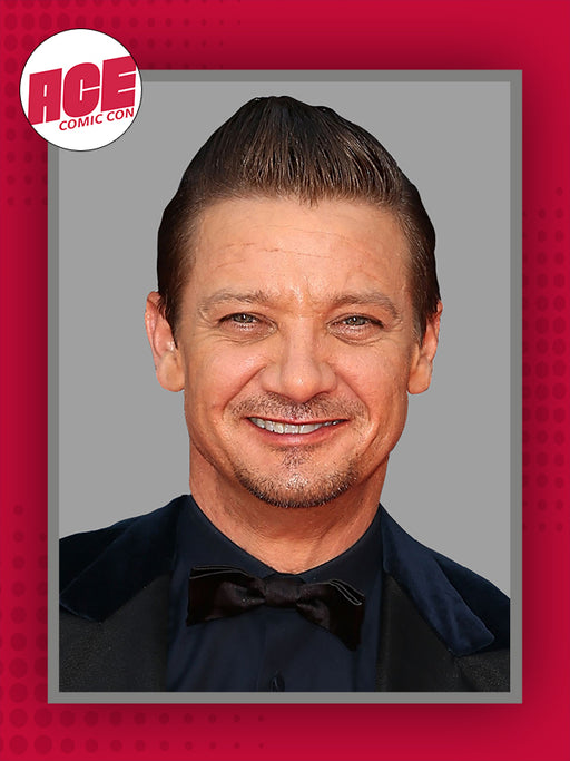 Jeremy Renner Official ACE Comic Con Signing Autograph Pre-Order