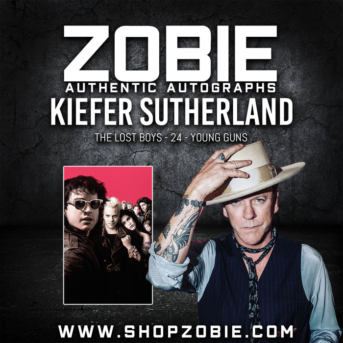Kiefer Sutherland Autograph Pre-Order
