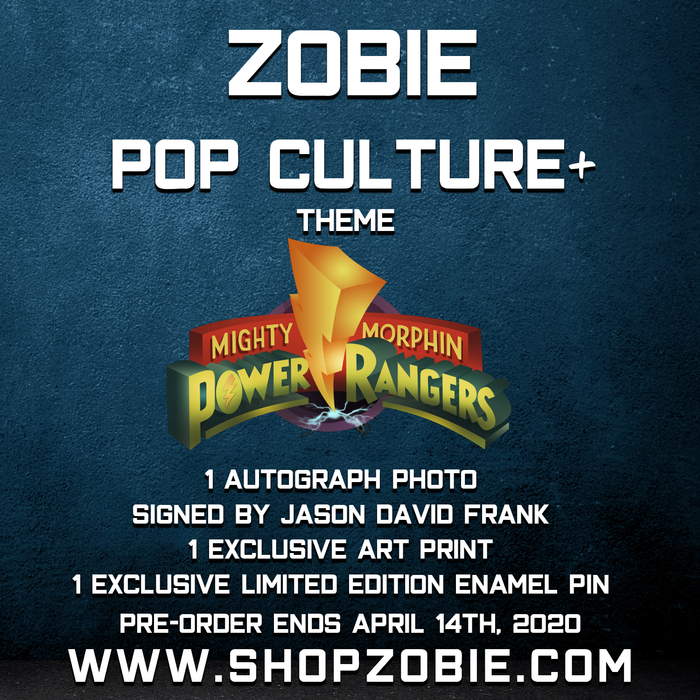 Zobie POP Culture+ Mystery Box - Mighty Morphin Power Rangers