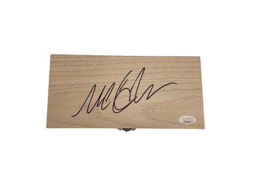 Michael C. Hall Autograph Dexter Real Blood Slide Box Prop Signed JSA COA