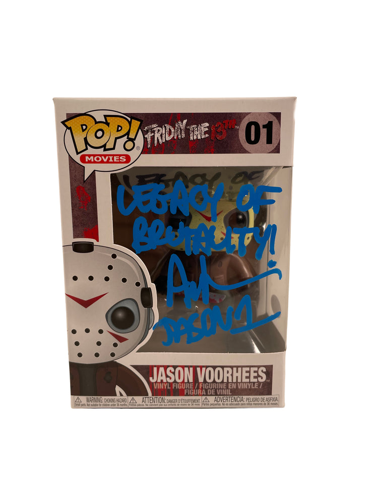 Ari Lehman Autograph Funko POP Friday the 13th Jason Voorhees Signed JSA COA 3