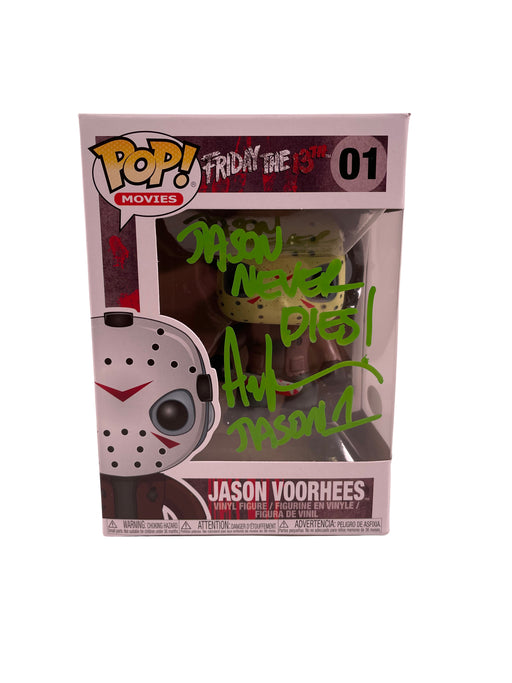 Ari Lehman Autograph Funko POP Friday the 13th Jason Voorhees Signed JSA COA 6