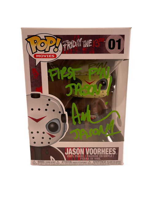 Ari Lehman Autograph Funko POP Friday the 13th Jason Voorhees Signed JSA COA 7