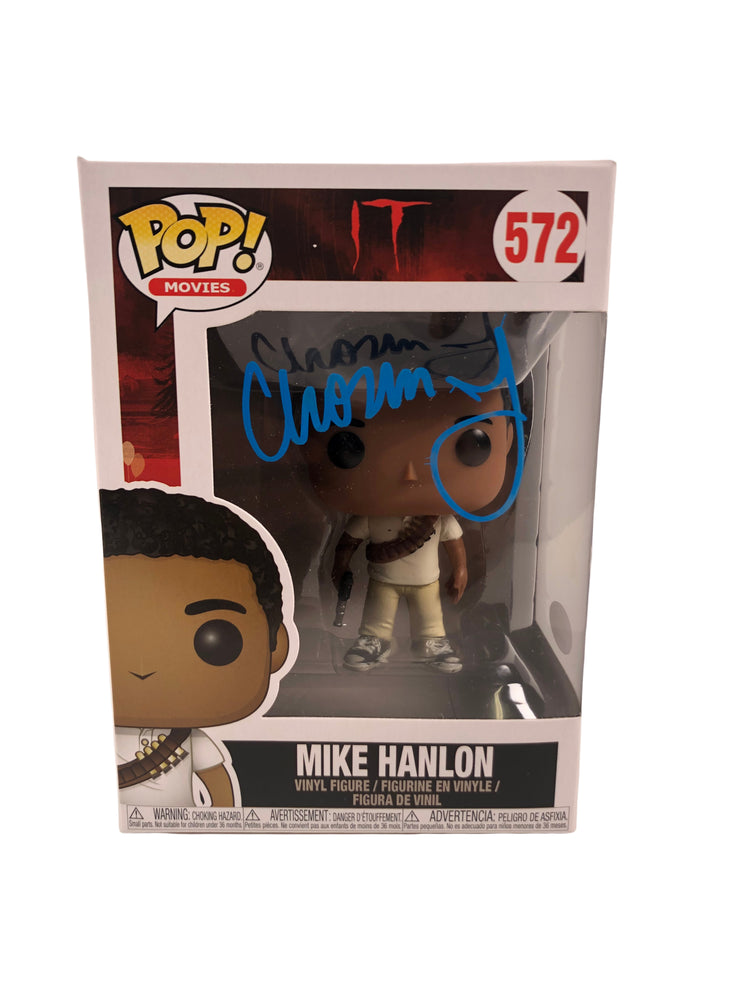 Chosen Jacobs Autograph Funko POP IT Chapter 1 Mike Hanlon Signed JSA COA