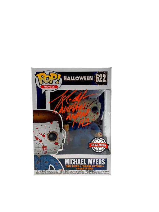 Tony Moran Autograph Funko POP Halloween Michael Myers Bloody Signed JSA COA