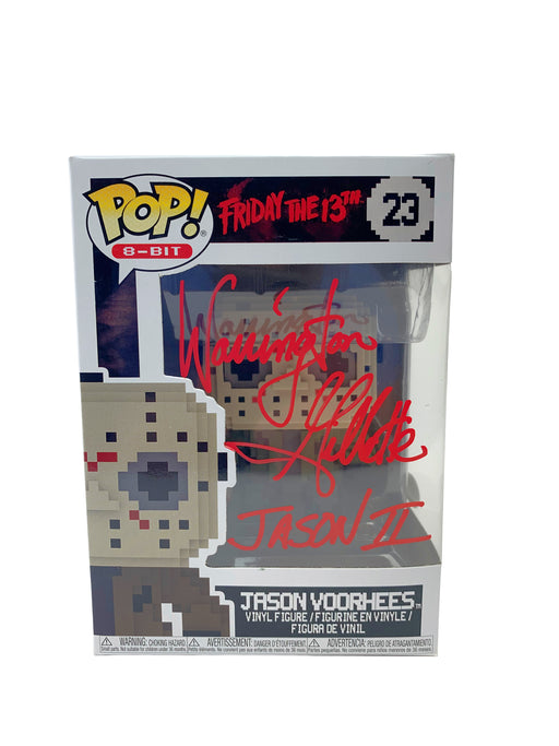 Warrington Gillette Autograph Funko POP Friday the 13th Jason Voorhees Signed JSA