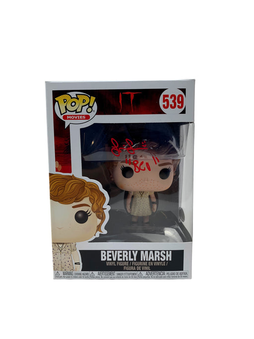 Sophia Lillis Autograph Funko POP IT Beverly Marsh Signed JSA COA Z1