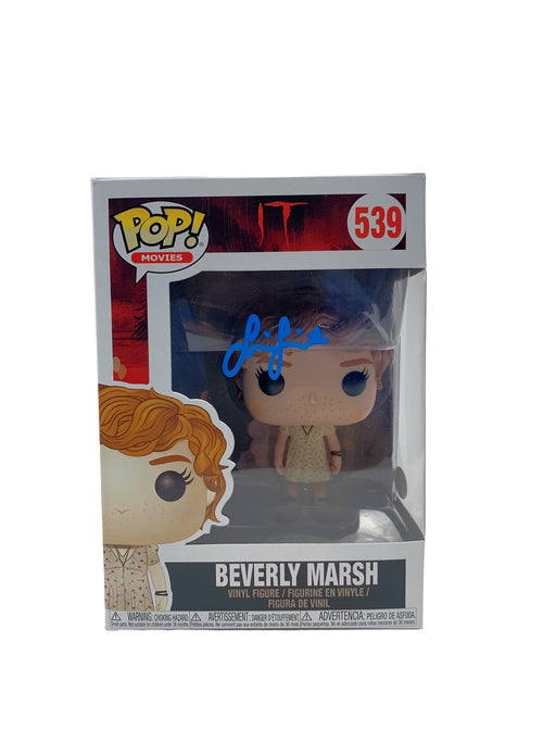Sophia Lillis Autograph Funko POP IT Beverly Marsh Signed JSA COA
