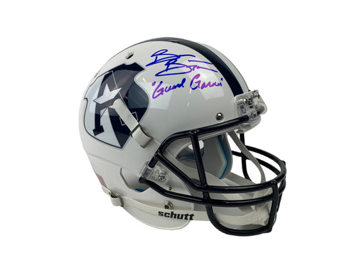Brian Bosworth Autograph The Longest Yard Custom Full Size REP Helmet Signed BAS COA