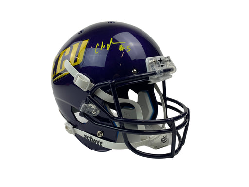 Chris Johnson Autograph Full Size Helmet ECU Signed BAS COA
