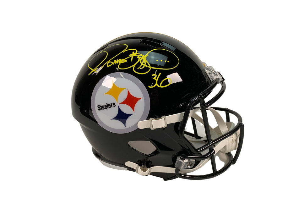 Jerome Bettis Autograph Pittsburgh Steelers Full Size REP Helmet Signed BAS COA