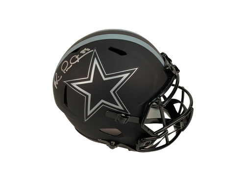 Michael Irvin Autograph Dallas Cowboys F/S Eclipse Speed Helmet Beckett COA