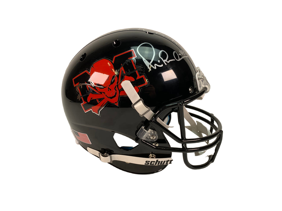Michael Irvin Autograph The Longest Yard Full Size REP Helmet Signed BAS COA