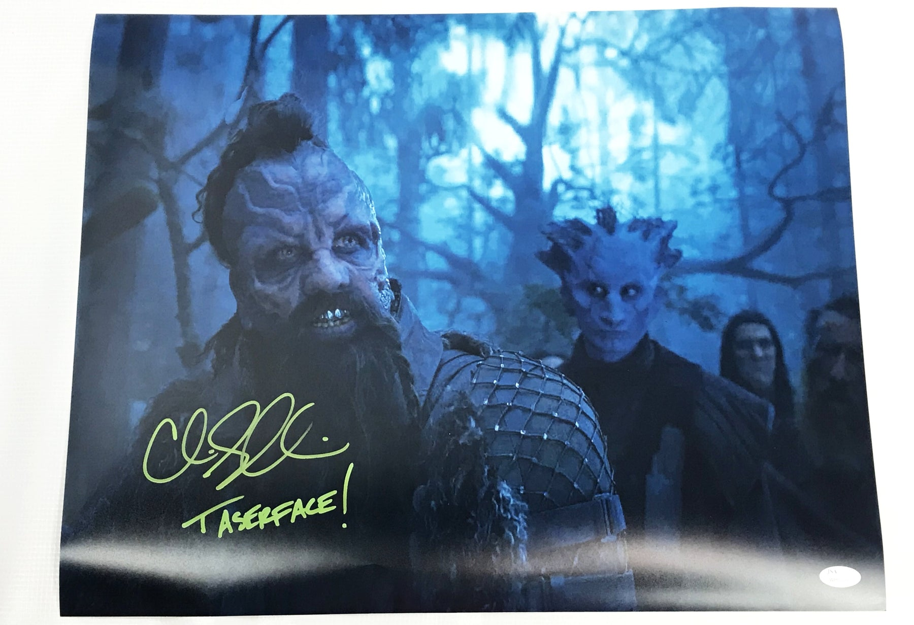 Chris Sullivan Signed 16x20 Photo Guardians of the Galaxy Taserface JSA