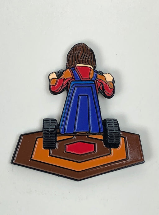 "Zobie Fright Pack - Limited Edition 2"" Enamel Lapel Pin - Shining Danny"