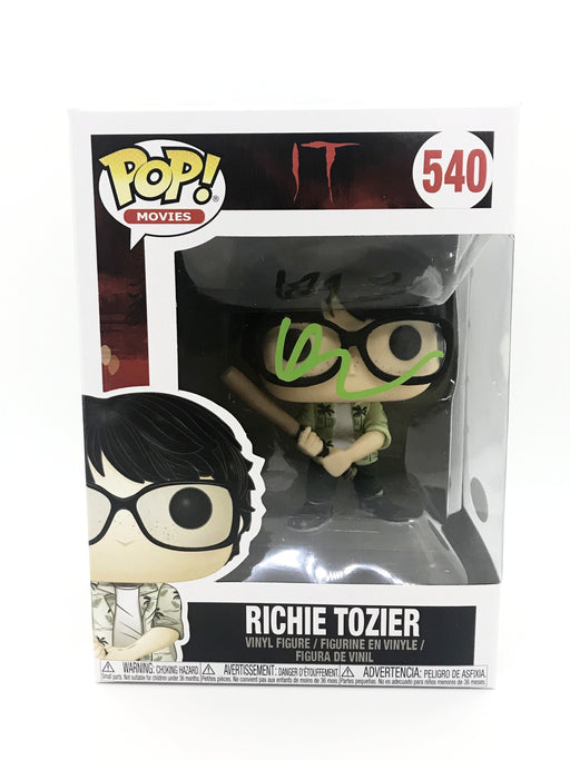 Finn Wolfhard Autograph FUNKO POP IT RICHIE TOZIER Signed JSA COA