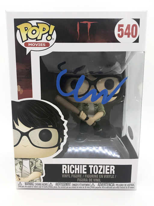 Finn Wolfhard Autograph FUNKO POP IT RICHIE TOZIER Signed JSA COA 2