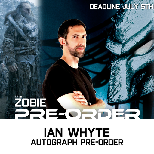Ian Whyte Autograph Pre-Order
