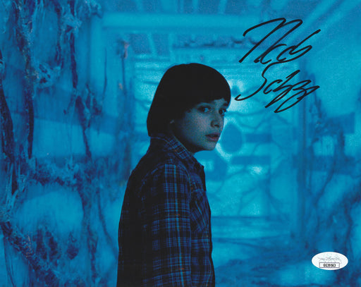Noah Schnapp Autograph 8x10 Photo Stranger Things Will Byers JSA COA NS3