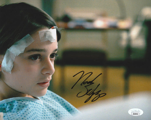 Noah Schnapp Autograph 8x10 Photo Stranger Things Will Byers JSA COA NS1