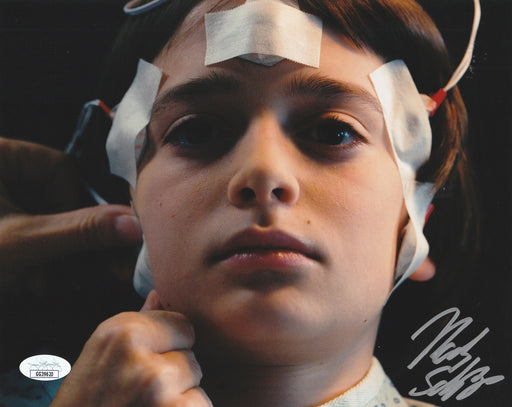 Noah Schnapp Autograph 8x10 Photo Stranger Things Will Byers JSA COA NS2