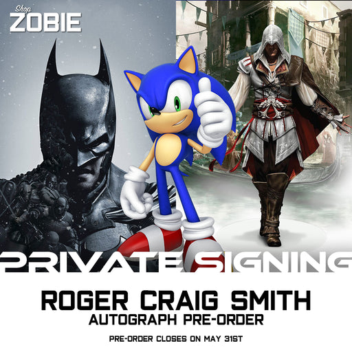 Roger Craig Smith Signing Autograph Pre-Order