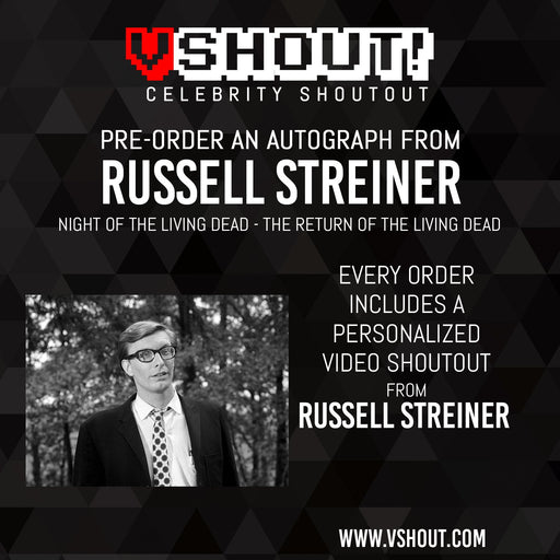 Russell Streiner Official vShout! Autograph Pre-Order