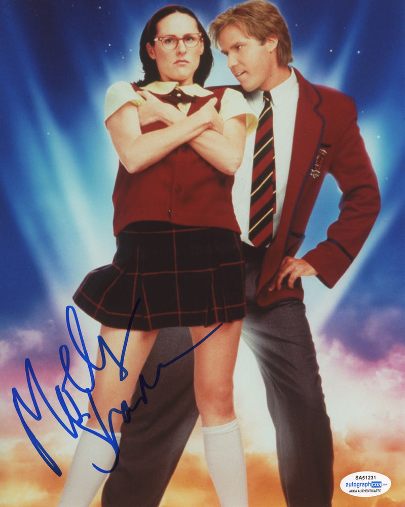 Molly Shannon Autograph 8x10 Photo Superstar Signed ACOA 4