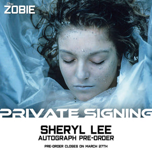 Sheryl Lee Private Signing Autograph Pre-Order