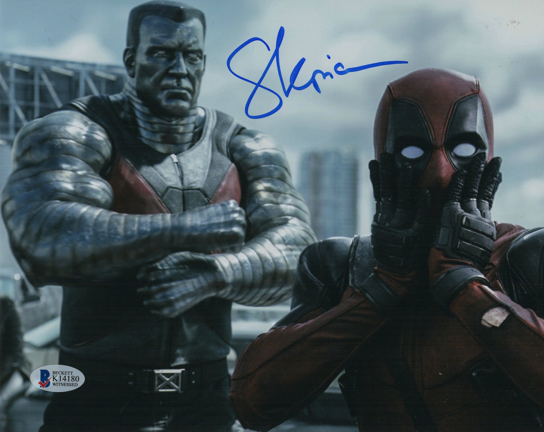 Stefan Kapicic Signed 8x10 Deadpool Colossus Autograph Photo BAS COA H10