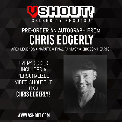 Chris Edgerly Official Zobie vShout! Autograph Pre-Order