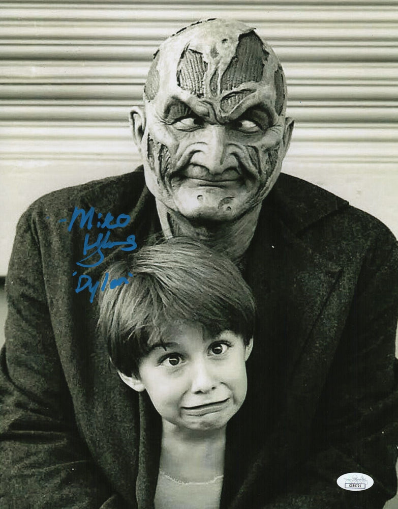 Miko Hughes Autograph 11x14 Photo New Nightmare Signed JSA COA Z2