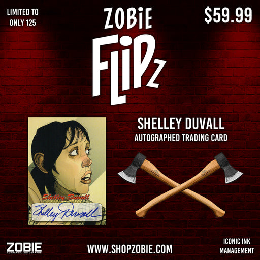 Zobie Flipz Autographed Trading Cards - Series 2 - Shelley Duvall