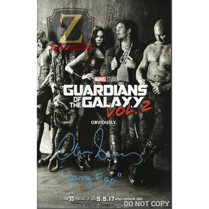 Aaron Schwartz Guardians Of The Galaxy Photo Autograph 11X17 Picture Zobie Coa V1
