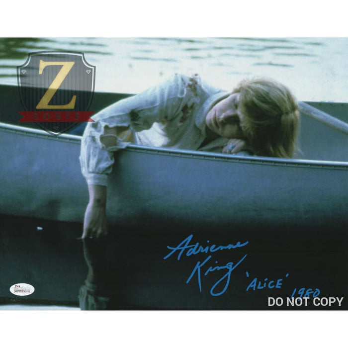 Adrienne King Signed 11X14 Photo Friday The 13Th Alice Autograph Jsa Coa