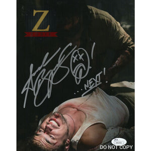 Andrew Bryniarski 8X10 Signed Photo Texas Chainsaw Massacre Leatherface Jsa Coa Ab9