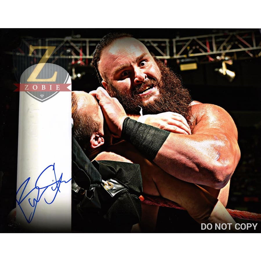 Braun Strowman Autograph 11X14 Photo Signed Picture Monster Among Men Coa 2
